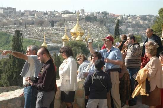 Il 2008 anno record per il turismo in Terra Santa