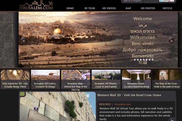 Gerusalemme in 3D, una nuova risorsa