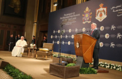 L'accoglienza di Amman a Papa Francesco