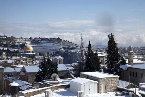 Gerusalemme innevata