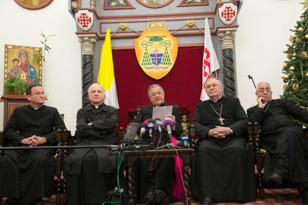 La diocesi di Gerusalemme nel cuore del Medio Oriente