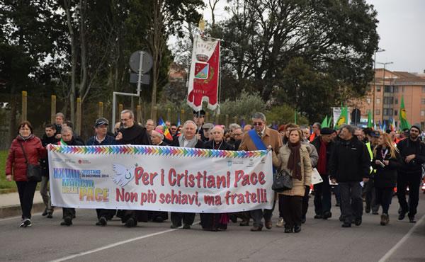 Marcia della pace ad Oristano, la testimonianza del Custode di Terra Santa