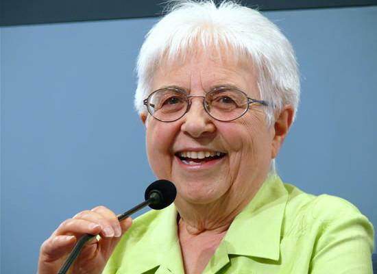 La presidente del Movimento dei focolari, Maria Voce. Succede a Chiara Lubich, la fondatrice scomparsa un anno fa.