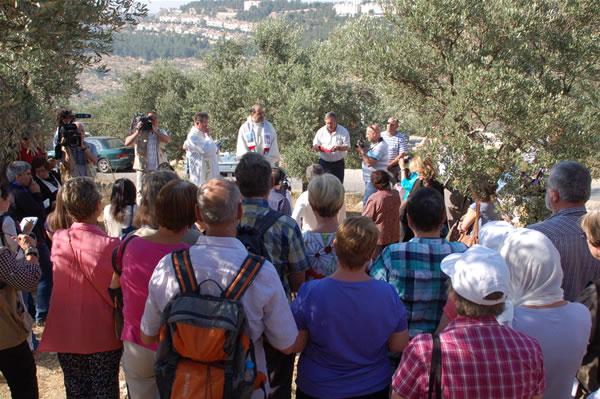 Domenica a Betlemme la vertenza di Cremisan alla tavola del Papa