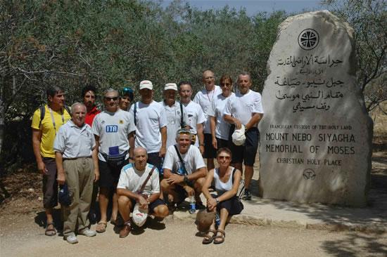 Ultimi chilometri per il pellegrinaggio ciclistico Lurago d'Erba-Gerusalemme