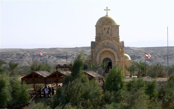 Un'altra chiesa ortodossa nel sito del battesimo di Gesù