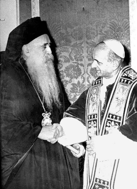 Paolo VI e Atenagora, i frutti dell'ecumenismo in Terra Santa