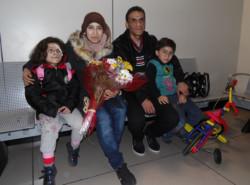 I primi arrivi del corridoio umanitario ecumenico verso l'Italia