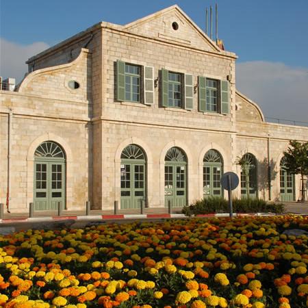 La vecchia stazione ferroviaria di Gerusalemme recentemente restaurata. (galleria foto: G. Sandionigi)