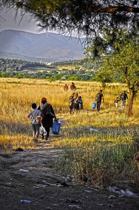 Sulla rotta balcanica: racconti da Eidomeni, al confine greco-macedone