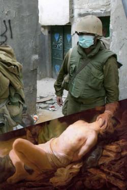 I classici della pittura europea riletti in chiave palestinese