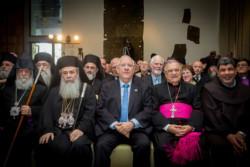 Reuven Rivlin e i leader religiosi cristiani, comune impegno per la pace