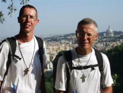 Mont Saint-Michel – Gerusalemme. Due uomini e un anno di cammino