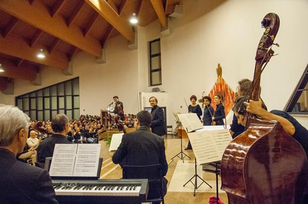 ... offerti da alcuni musicisti dell'orchestra dell'Accademia di Santa Cecilia.