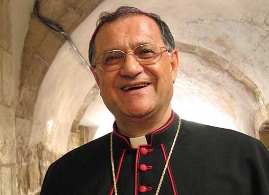 Monsignor Twal: ancora e sempre chiediamo pace