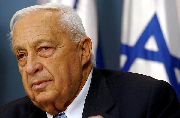 Ariel Sharon riposa nel deserto del Neghev