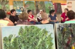 Arte per la pace: le «Donne dell'ulivo»
