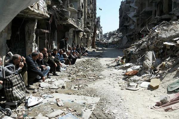 Yarmouk in ginocchio