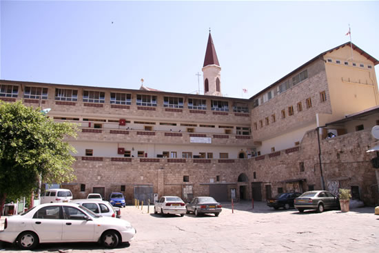 L'edificio del Terra Santa College di Akko. (foto N. Cianciotta)