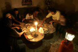 Gaza. È buio pesto.