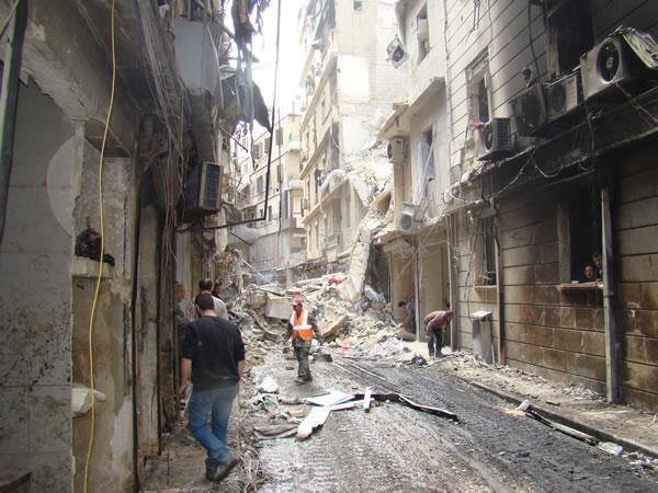 Dai francescani un appello al mondo per Aleppo e la Siria