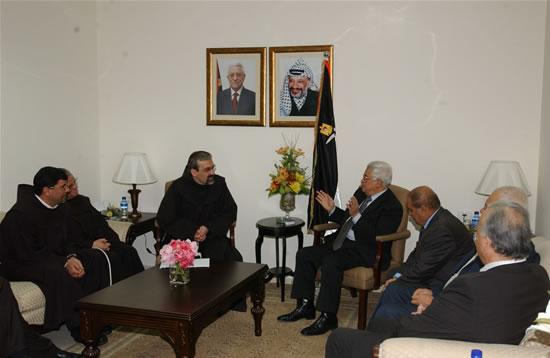 Abu Mazen invitato alla Messa di Natale. Accessi facilitati a Betlemme