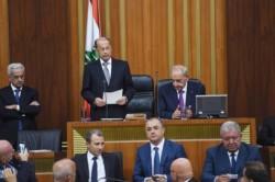 Michel Aoun è presidente del Libano
