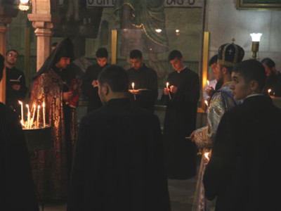 Sulle tensioni al Santo Sepolcro
