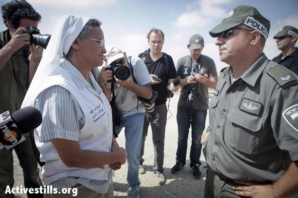 Suor Aziza e i profughi eritrei bloccati al confine di Israele