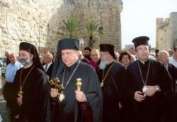 Il nuovo vescovo greco-cattolico si insedia a Gerusalemme
