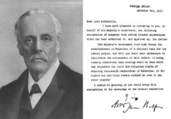 La Palestina vuol portare la Gran Bretagna in tribunale