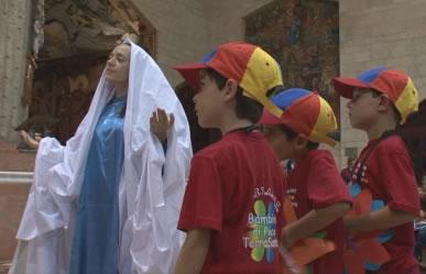 «Bambini di pace» dell'Unitalsi in Terra Santa