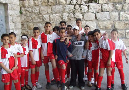 Una scuola di calcio per «Bambini senza confini»