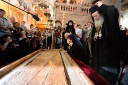 Il patriarca di Costantinopoli è già a Gerusalemme per l'incontro con il Papa