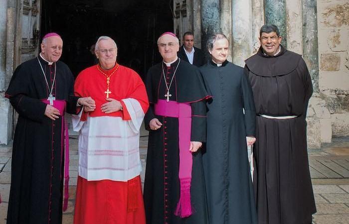 Il cardinal Bassetti confida il suo legame con Gerusalemme