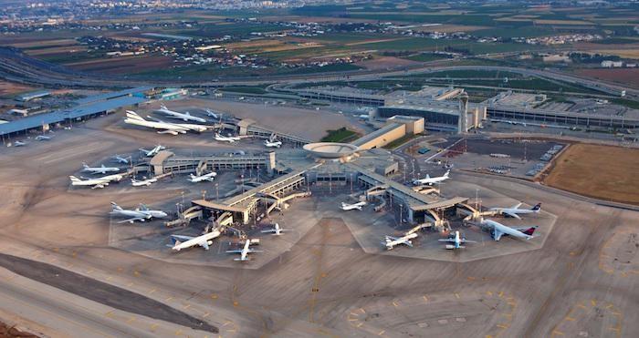 Il terminal 3 dell'aeroporto Ben Gurion a Tel Aviv. (foto Iaa)