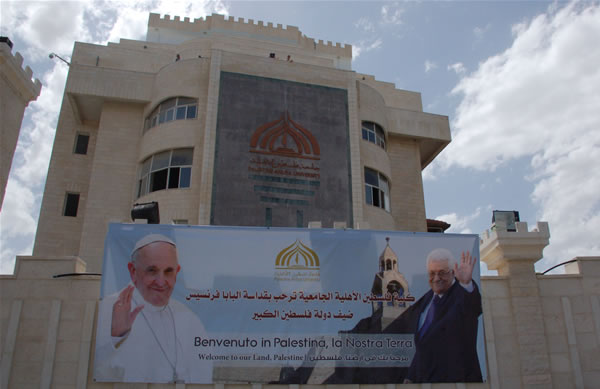 Betlemme e Gerusalemme, due modi d'attendere il Papa