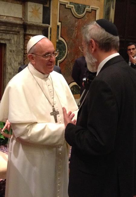 Burigana: Papa Francesco alla sinagoga di Roma per riaffermare un'amicizia