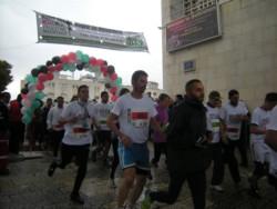 A Betlemme s'è svolta la prima maratona della Cisgiordania