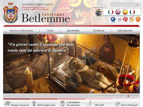 Betlemme, un nuovo sito web per il santuario della Natività
