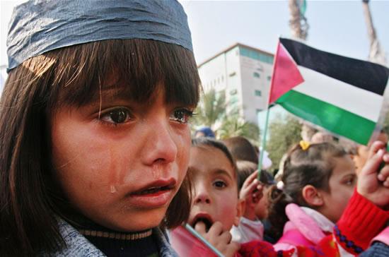Negli occhi dei piccoli palestinesi