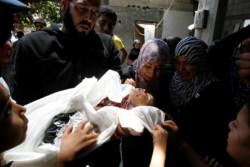 L'Unicef conta i minori caduti a Gaza sotto le bombe israeliane