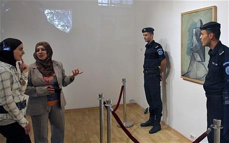 Fame di cultura nei Territori palestinesi