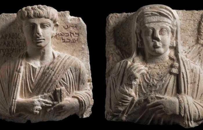 Restaurati a Roma, tornano in Siria due busti di Palmira