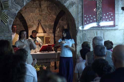 Una quarantina di pellegrini sordi in Terra Santa con l'Ens