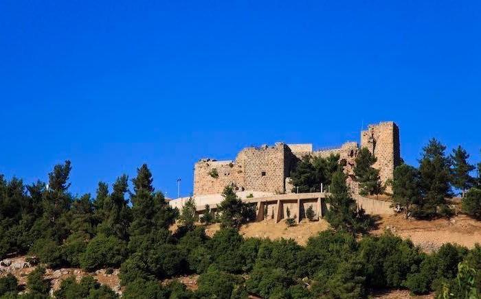 Uno scorcio del castello di Ajloun, nella Giordania settentrionale. (© foto JTB)