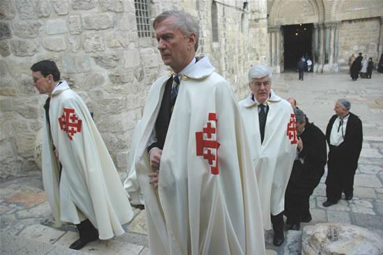 Cavalieri del Santo Sepolcro, ambasciatori di pace