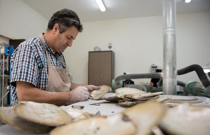 Salim Atick, artigiano provetto. (foto Nizar Halloun/CTS)
