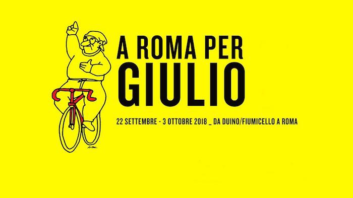 Sul sellino da Trieste a Roma per Giulio Regeni