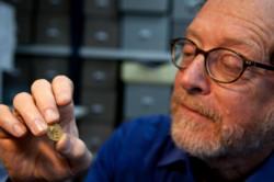 Un'antica moneta d'oro romana ritrovata per caso in Galilea